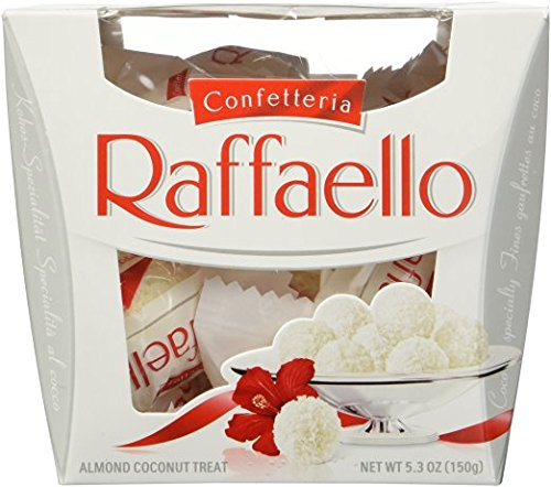 Party Time - Ferrero Raffaello, Almond Coconut Treat - ( Pack of 1 ),15-Count Gift Box (1 pack)