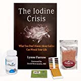 Iodine For Life 12.5 Mg I-Thyroid Lugols Iodine Capsule Starter Kit. Thyroid, Breast and Immune System Support.