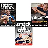 Bundle: Self-Defense DVDs by Rory Miller and Jeff Burger: Attack the Attack, Joint Locks, Infighting