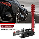 Hydraulic Handbrake Master Cylinder 0.70, E Brake Racing Parking Emergency Brake Lever Handle