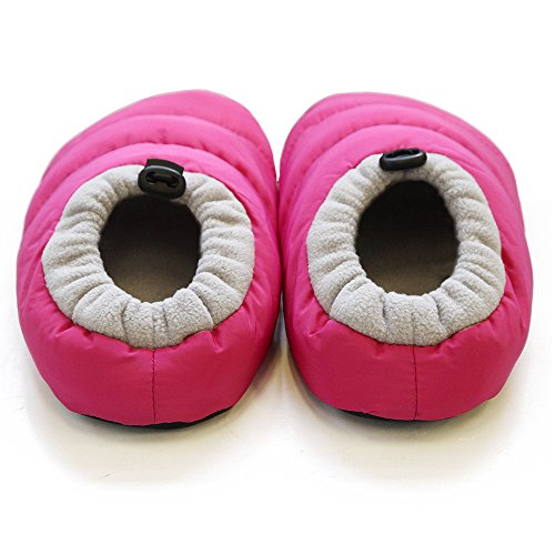 Roooms Womens Warm Warm Room Shoes Pink