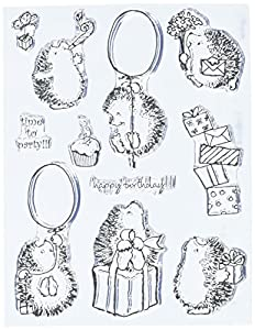 Amazon Com Penny Black Clear Stamp Set Party Time Arts