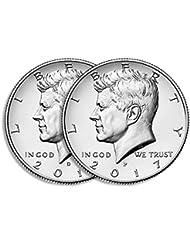 2017 P & D Kennedy Half Dollar Clad Uncirculated