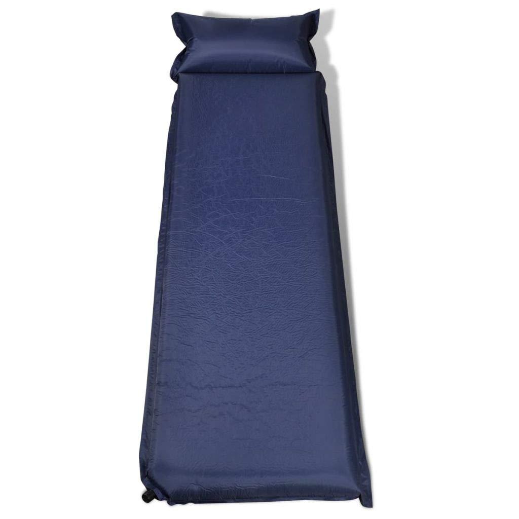 Xingshuoonline Luftmatratze blau schnell aufblasbar Outdoor Camping 10 x 66 x 200 cm