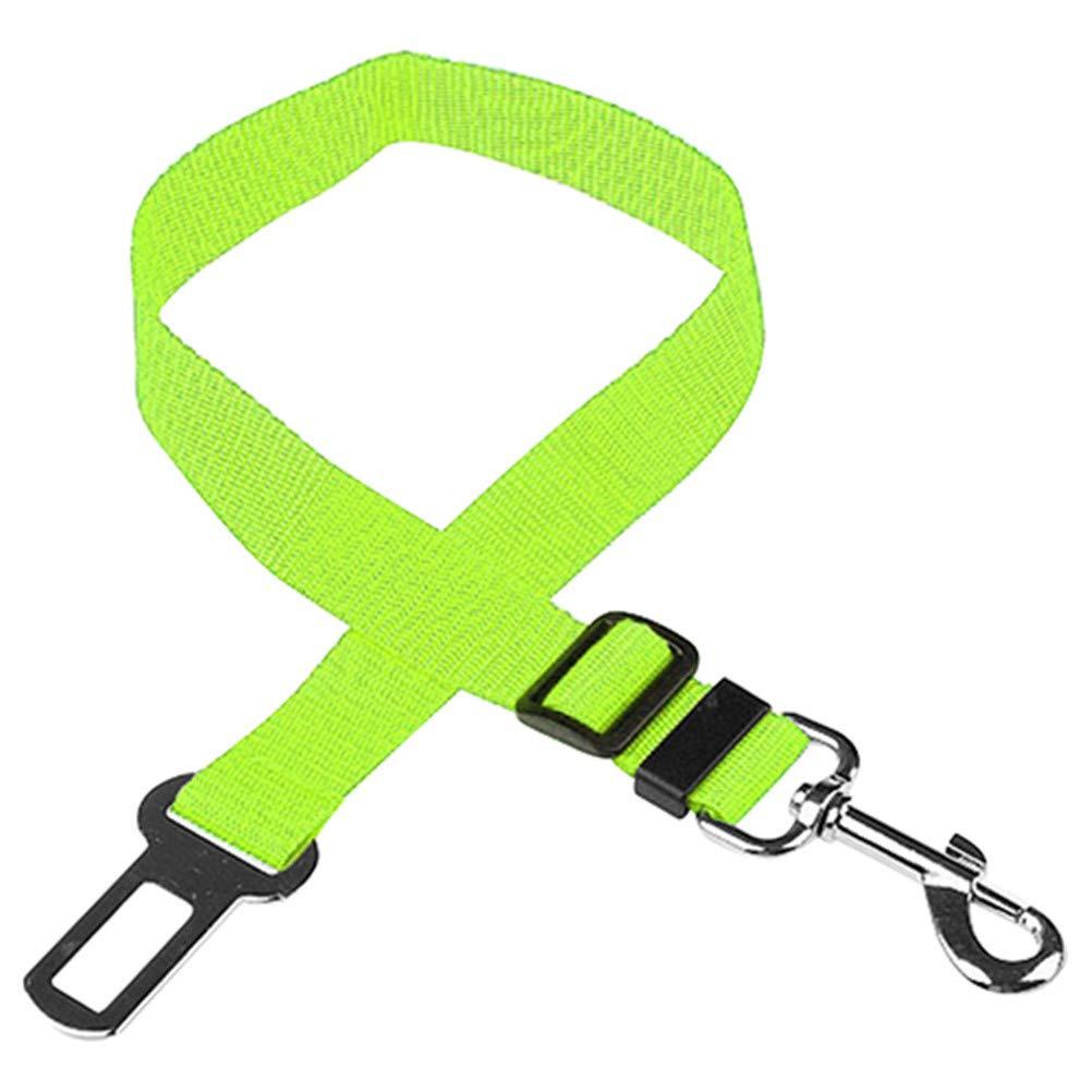 Grey KaariFirefly Pet Puppy Dog Cat Car Seat Belt Harness Restraint Lead Adjustable Travel Clip
