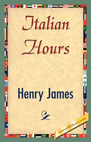 book cover of Italian Hours