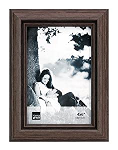kiera grace nolan picture frame 4 by 6 inches grey driftwood - Driftwood Frame