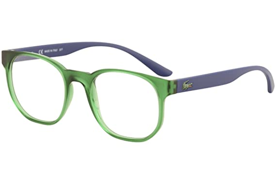 c162a3a81cd Eyeglasses LACOSTE L 3908 315 MATTE GREEN at Amazon Men s Clothing ...