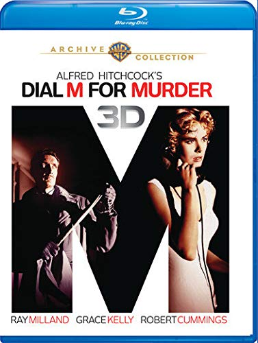 Dial M For Murder (3-d Blu-Ray)