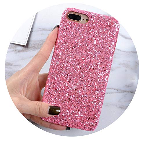 Fashion Shining Flash Sequins Glitter Phone Case for iPhone X 8 7 Plus 6S Ultra Slim Bling Hard Shell Cover Capa Coque,2,for iPhone 7 (Best Youtube Downloader List)