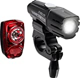 Cygolite Streak 350 USB Rechargeable Bicycle Headlight & Tail Light Combo Set