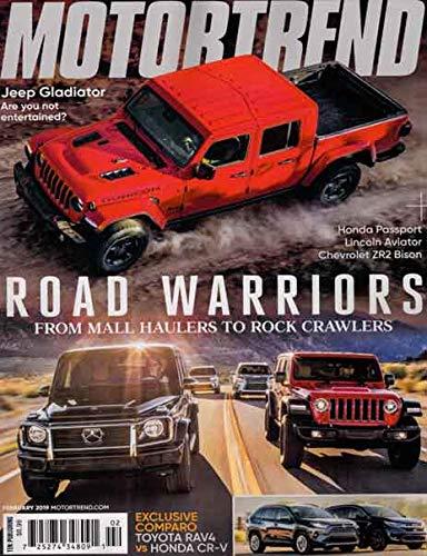 Motor Magazine Trend - Motor Trend February 2019