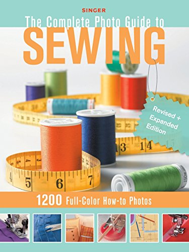 Sewing Book Covers (Singer Complete Photo Guide to Sewing - Revised + Expanded Edition: 1200 Full-Color How-To)
