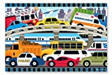 Toys : Melissa & Doug Traffic Jam Jumbo Jigsaw Floor Puzzle (24 pcs, 2 x 3 feet long)