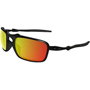 Amazon.com  Oakley Men s Madman OO6019-06 Polarized Iridium Round ... 5313a5fb27