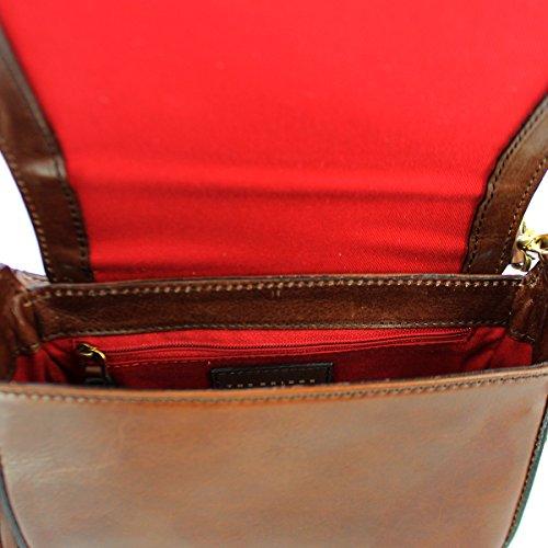 BORSA THE BRIDGE SALINGER SHOULDER BAG SMALL 0412174A 14 MARRONE Oferta Realmente Toma Edición Limitada De La Venta En Línea Ordenar El Precio Barato XACNf7QCbg