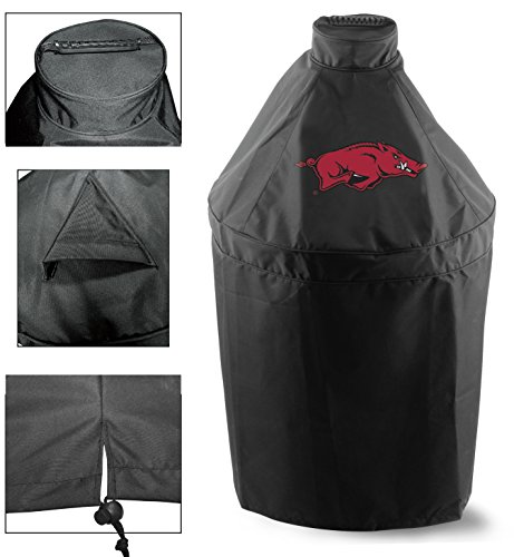 Holland Covers GC-K-ArknUn Officially Licensed University of Arkansas Kamado Style Grill Cover ()