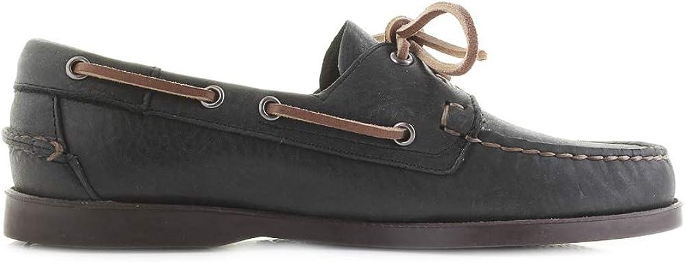 Sebago Dockside Portland Herren Schuhe Schwarz