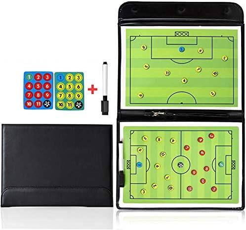Opvouwbare Magnetische Tactic Board Voetbal Coaching Board Voetbal Game Draagbare Voetbal Training Tactiek Klembord