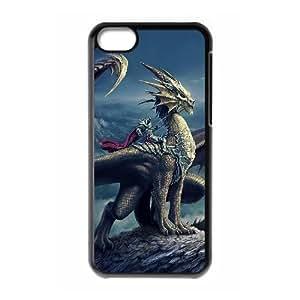 3D Bumper Plastic Case Of Fairy customized case For iPhone 5c