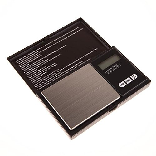 Mini Precision Digital Scale 1000g x 0.1g Jewelry Gold Silver Coin Gram Pocket Size Display Units Pocket Electronic Scales (Gold Coin Silver)