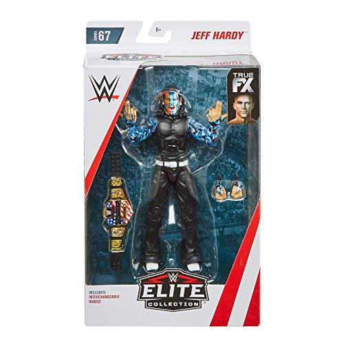 WWE Jeff Hardy Elite Collection Action Figure