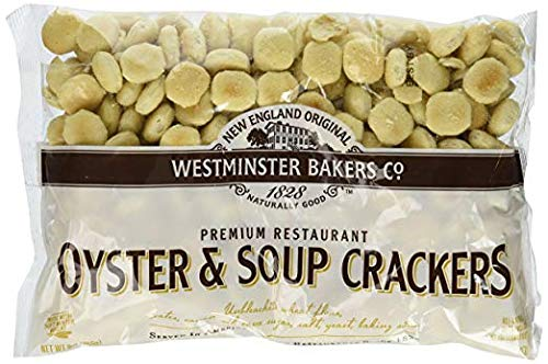 New England Original Westminster Bakeries Oyster & Soup Crackers (6 - England Crackers New Oyster