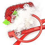 TIJN Christmas Gifts Novelty Round Eyeglasses Frame Party Decor, Hat