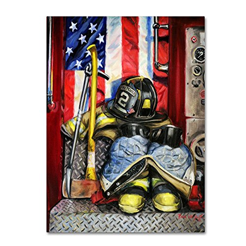 Symbols Of Heroism by Paul Walsh, 24x32-Inch Canvas Wall Art