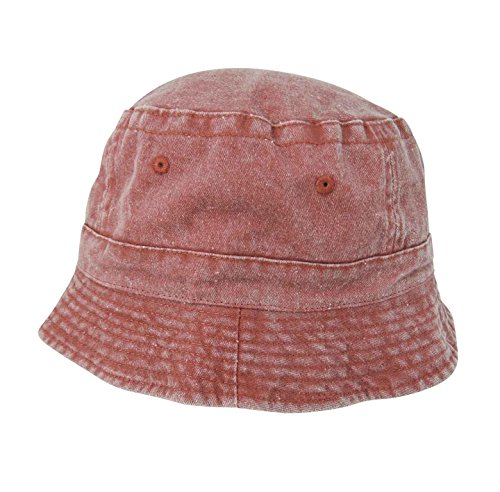 0cc196949fb Galleon - DALIX Cotton Washed Bucket Hat In (Large