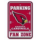 NFL Arizona Cardinals Plastic Parking Signs