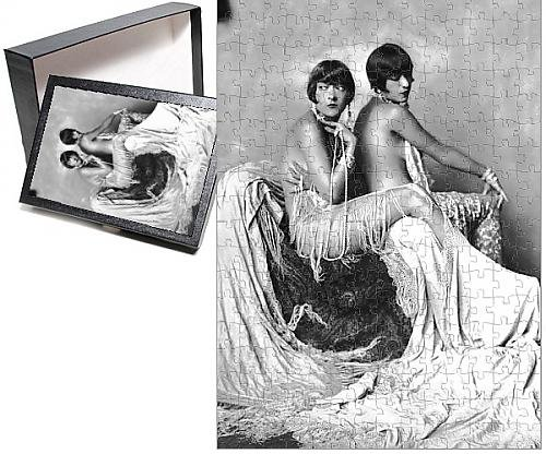Photo Jigsaw Puzzle of The Dolly Sisters, New York (Dance Costumes New York)