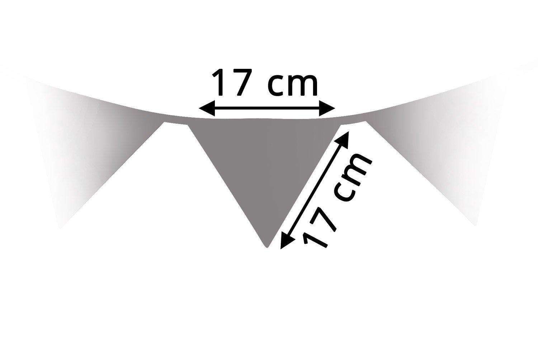 T10 Amilian/® Guirlande de fanions d/écorative en tissu