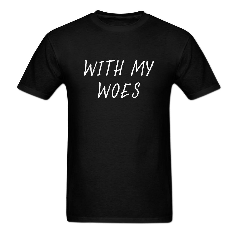 Diy Men's Drake With My Woes Sweater Logo Short-Sleeve Tech T-Shirt Beverly Rubio