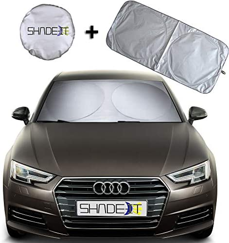 MIAOJIE Car Windshield Sun Shade Umbrella for Car Front Windshield Protection Foldable Car Sun Block Heat UV Sun Protection Insulationvisor Protective Film Easy To Use And Store 65 125cm