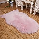 hongfei Silky Smooth Sofa Rugs, Fluffy Chair Rugs Anti-Skid Shaggy Rug Dining Room Home Bedroom Carpet Floor Mat - Super Soft Indoor Modern Shag Area