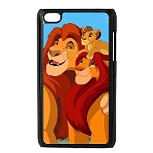 Lion King iPod 4 Black Cell Phone Case GSZWLW1336 Phone Case Sports