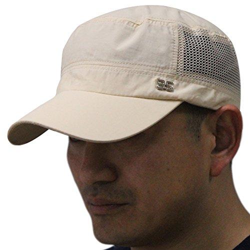 Golf Top Hat (Men's Summer Beach Mesh Flat Top Military Army Running Golf Sun Hat Cap Visor)