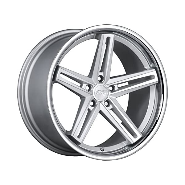 Concept-One-CS-55-Silver-Machined-Wheel-with-Painted-Finish-20-x-10-inches-5-x-120-mm-38-mm-Offset