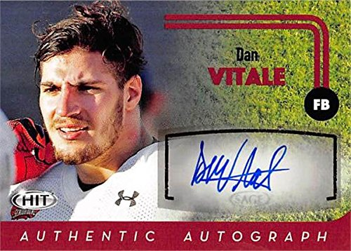 270074 Dan Vitale Autographed Football Card - Northwestern Wildcats 2016 Sage Hit - No. A65 Rookie ()