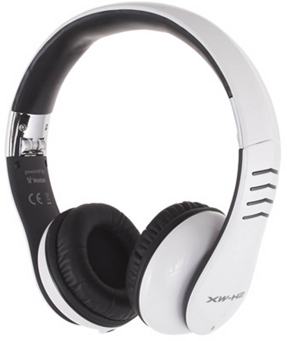 Casio XW-H3 Foldable DJ Headphones - Red/Grey XWH3