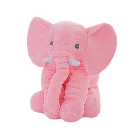 Amazon.com: Elefante apaciguar almohada juguete de felpa ...
