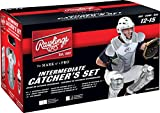 Rawlings Sporting Goods VCSI-B/GPH Adult Catcher Set Velo Series Protective Gear, Black/Graphite, Age