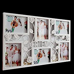 ZLY Photo-Tree Home Photo Collect Tree 6 Openings Decorative Family Wall Hanging Collage Picture Frame - Made to Display Six Pieces 6 inch Photo
