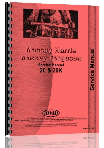 Massey Harris 20 Tractor Service Manual