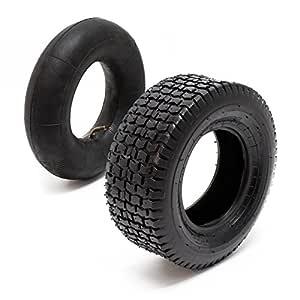 WilTec Neumáticos para segadora de jardín 18x8.50-8 4pr con cámara ...