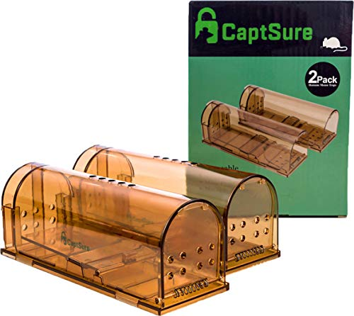 CaptSure 2019 Upgraded Humane Smart Mouse and Rat Trap