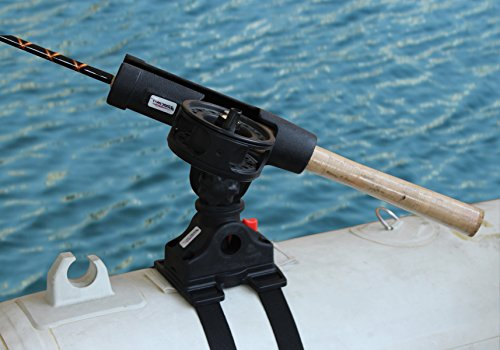 Brocraft Float Tube OR Pontoon Boat Rod Holder / Float Tube Fly Rod ()