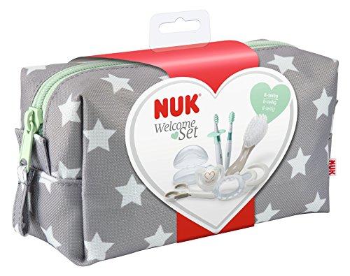 NUK Pflege-Set für Neugeborene, beige/weiß