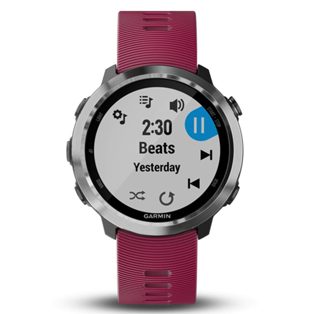 Garmin Forerunner 645 Music Bundle with Extra Band & HD Screen Protector Film (x4) | Running GPS Watch, Wrist HR, Music & Spotify, Garmin Pay (Cerise + Music, Teal) by PlayBetter (Image #5)